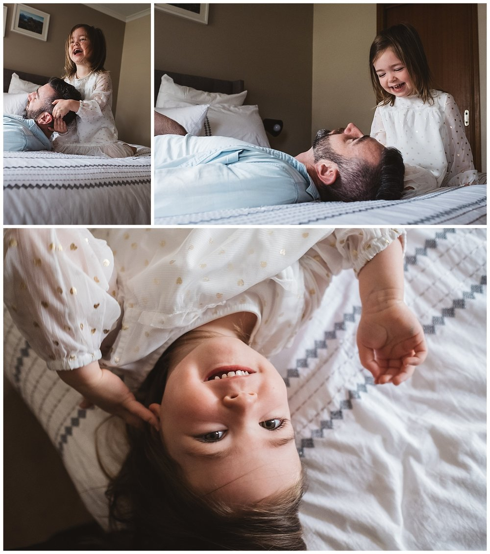 Parkville family photography and lifestyle baby photos