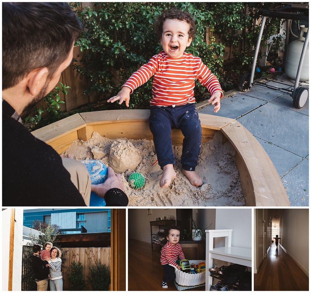 Newborn and toddler photos in richmond