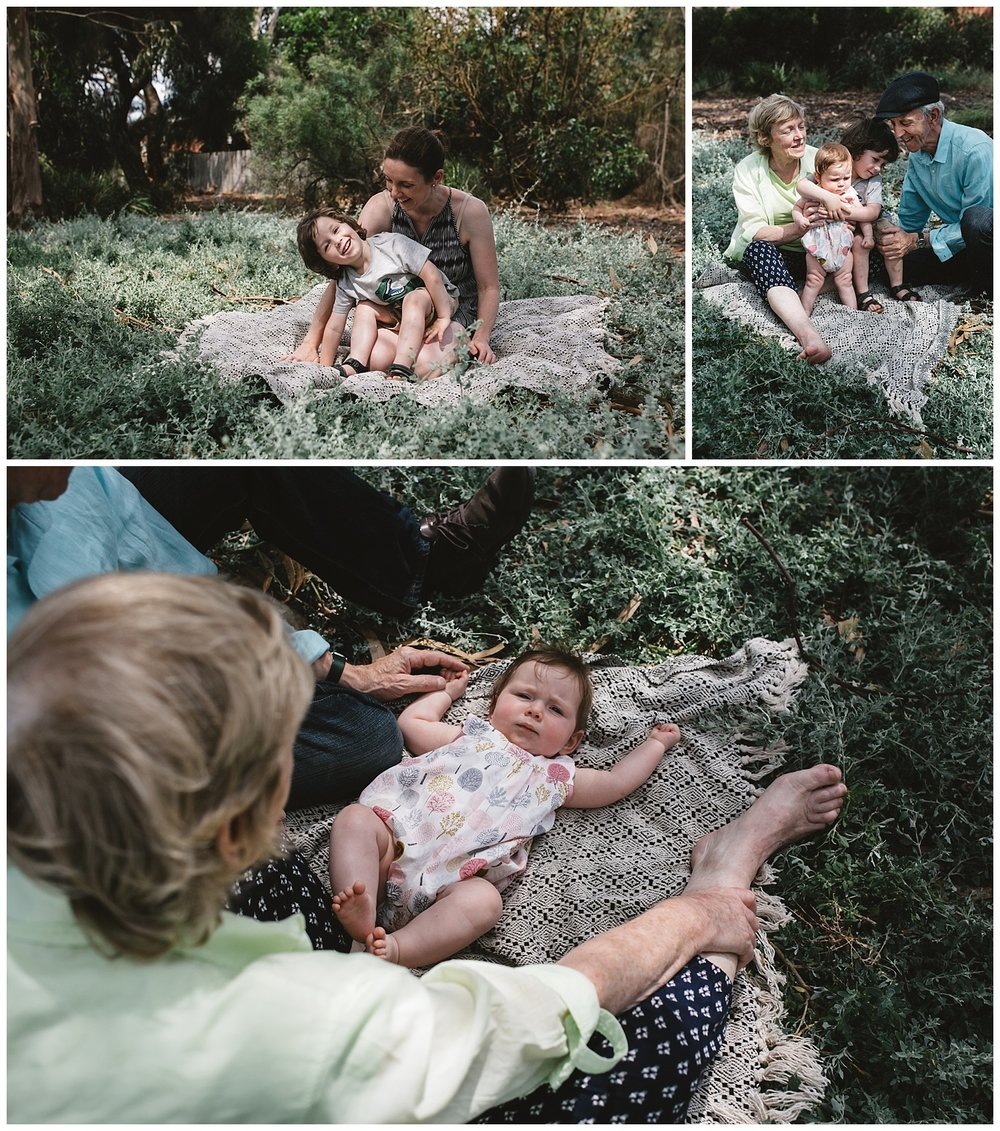Relaxed family portraits in Bayside and Sandringham, outdoor living and summer days