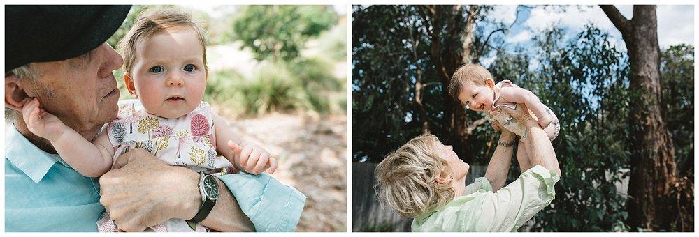 Grandparents portraits session in melbourne