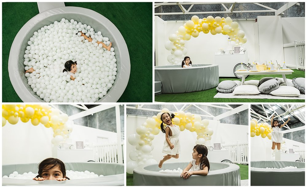 Ballpit available for hire in Melbourne metro via  Kinfolk  | Balloons available from  Moonshot Balloons