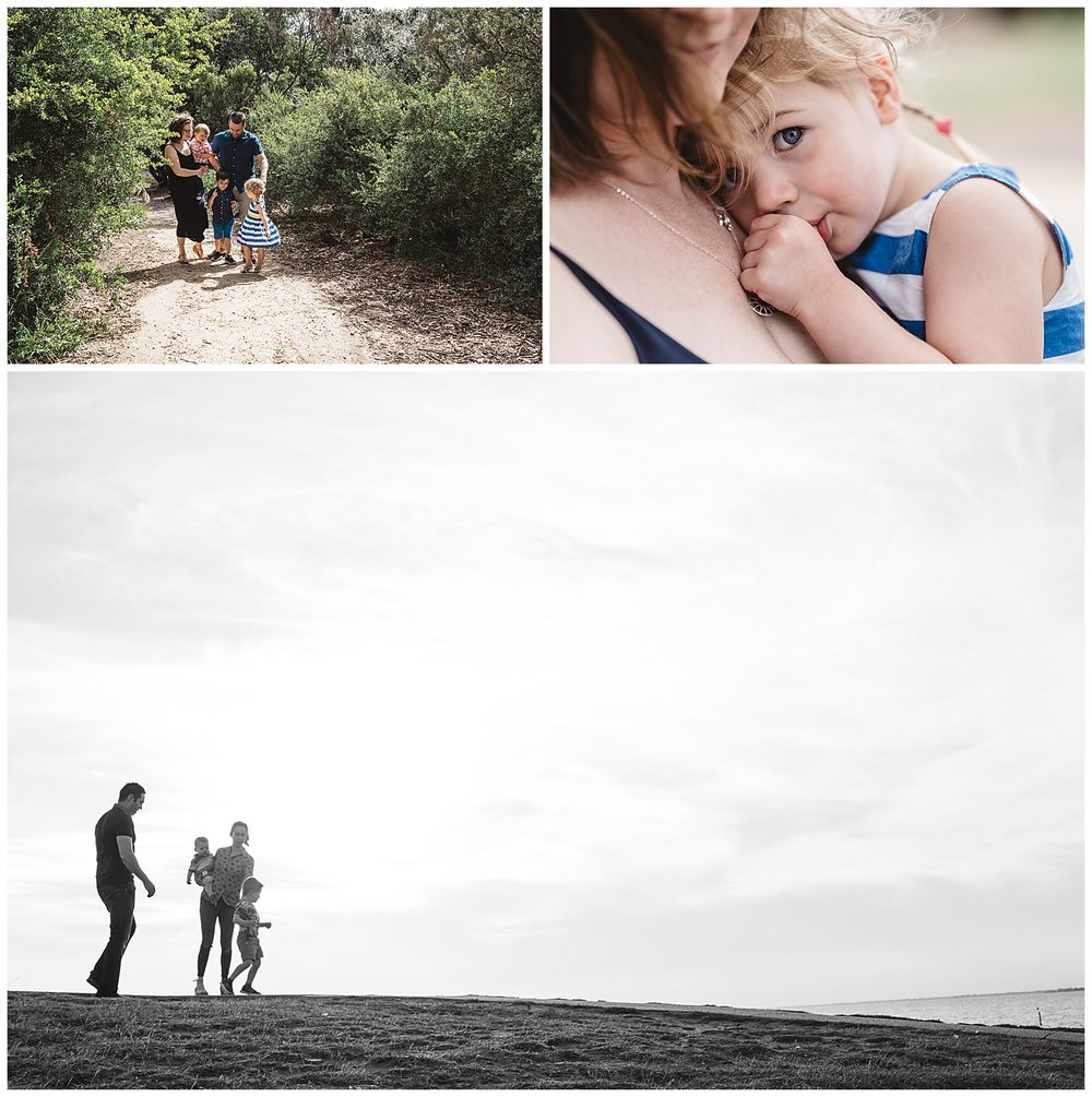 Elwood newborn and family lifestyle photography and family portraits