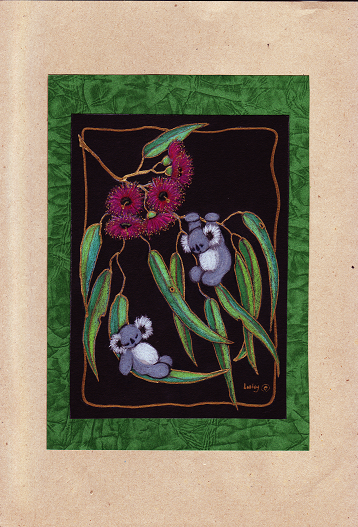 Gum Blossoms and 2 Koalas-s.PNG