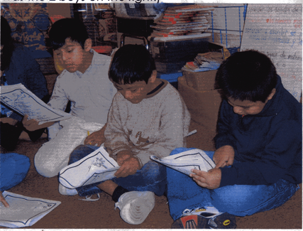 2nd and 3rd graders, Bilingual Enders-Salk School, Shaumburg