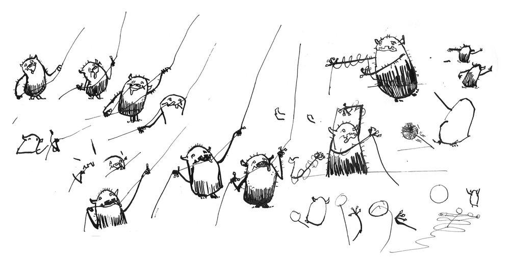 Rough sketches - 2012