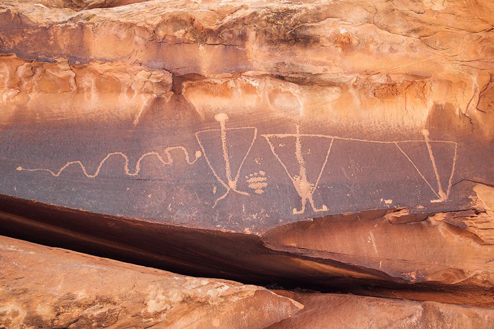 PETROGLYPHS - Stock Photography