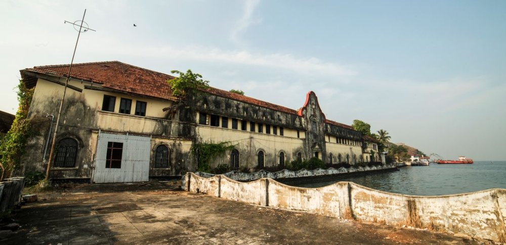 The focal point of KMB, Aspinwall House | Image Credit: Kochi-Muziris Biennale