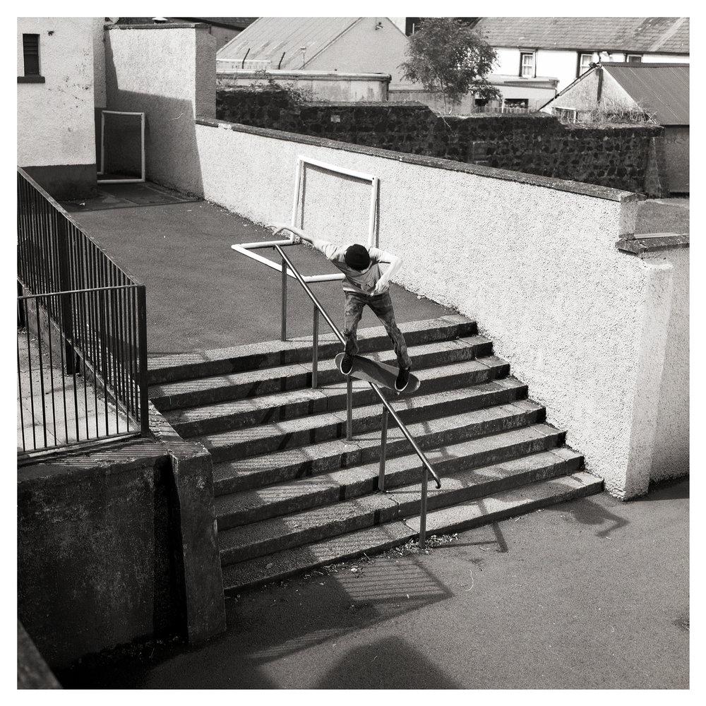 Jonny McConkey feeble grind - Cullybackey.