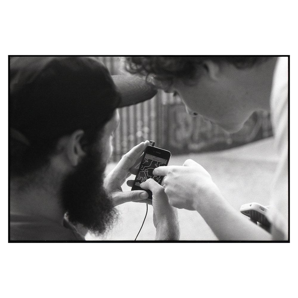 Tony Moore & Craig Dodds - Bridges Skate Park.