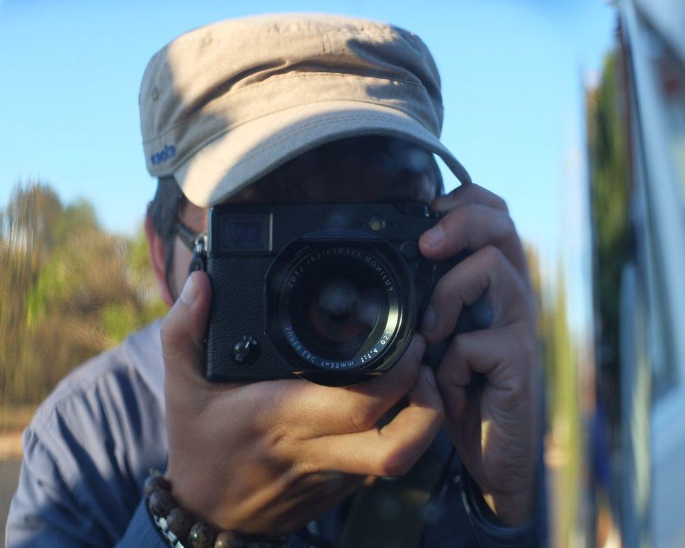 Self Portrait in Madagascar, 2014.