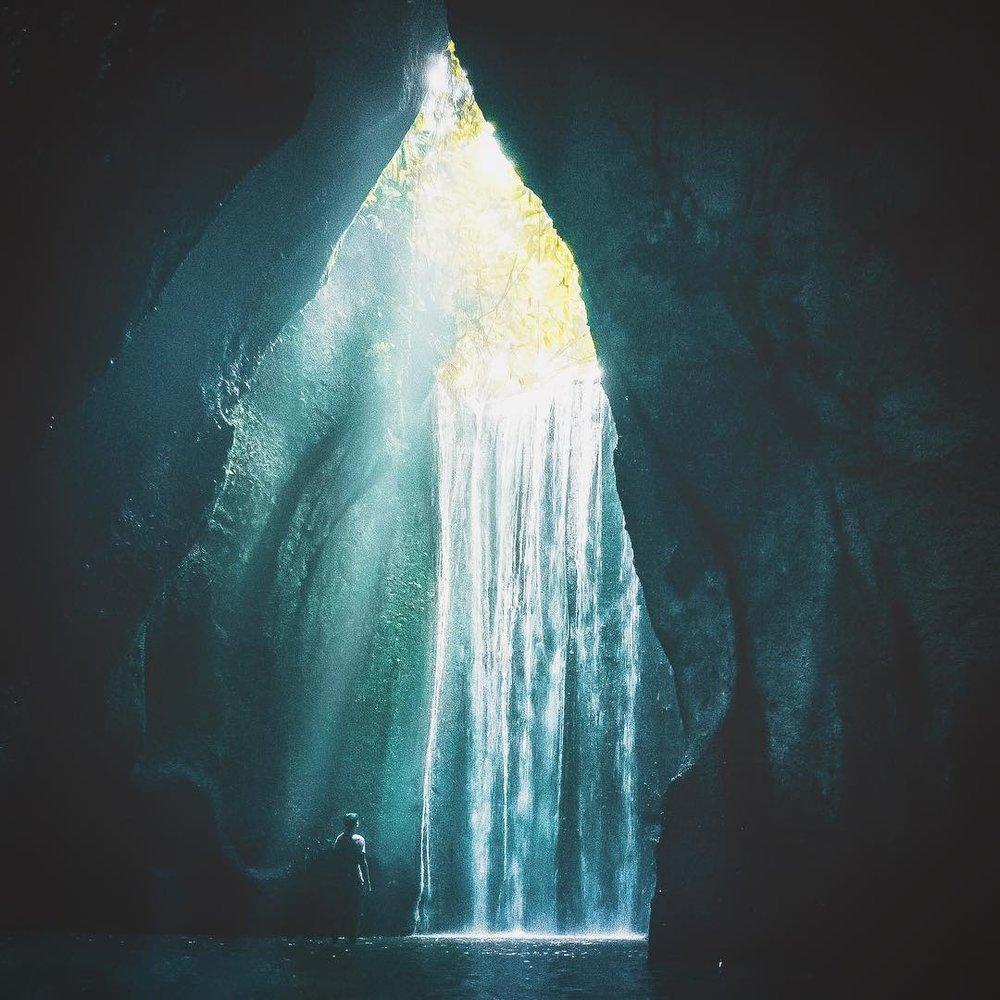 Exploring the waterfalls of Bali