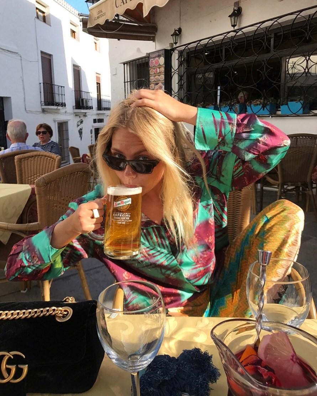 En kæmpe øl til Frejsen.