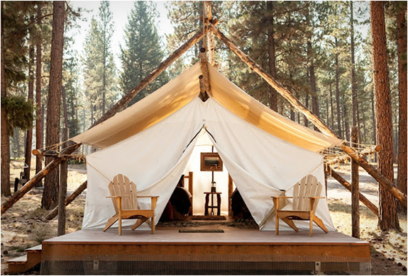 Glamping: Merging Travel Worlds