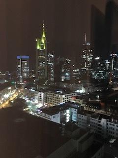 Frankfurt from my room