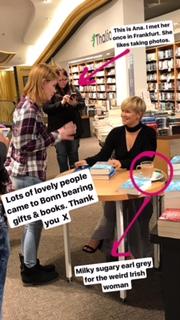 Thalia Bonn Bookshop signing
