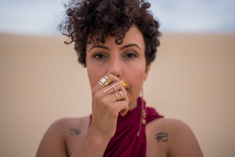 picture by Adam Scarf      Nardean is an Australian born MC, poet, spoken word artist, singer and songwriter who carries with her the ancient mysticism and power of her Egyptian heritage. Her work is motivated by the unflinching pursuit of honesty. As a performer Nardean displays an unfiltered humanity that allows her to connect with anyone, no matter how nuanced, complex or cosmic her subject matter is.   Her art poignantly balances introspection with an acute awareness of the absurdity of it all.    Despite being a newcomer to the world of Hip Hop and Spoken Word, Nardine has celebrated a whirlwind of success, performing around Australia, Canada and America. She was a NSW Finalist in the Australian National Poetry Slam and has opened for artists such as Brother Ali and Atmosphere, Tuka and ALPHAMAMA. She was also accepted into the prestigious Banff Centre for a Spoken Word residency, where she worked on her debut EP - a conceptual work that dissolves the lines between hip hop, melody and poetry. A warm presence, bubbly persona and quiet magnetism emanate from her, captivating her audiences as she further cements her reputation as a force to be reckoned with.