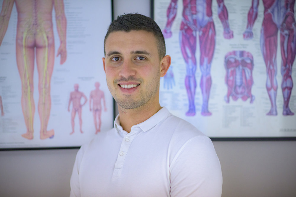 Conor Sheils, Injury Specialist at the Athletic Injury Rehab Clinic (located in Haven Therapies, Unit 4 N1 Business Park, Swords).