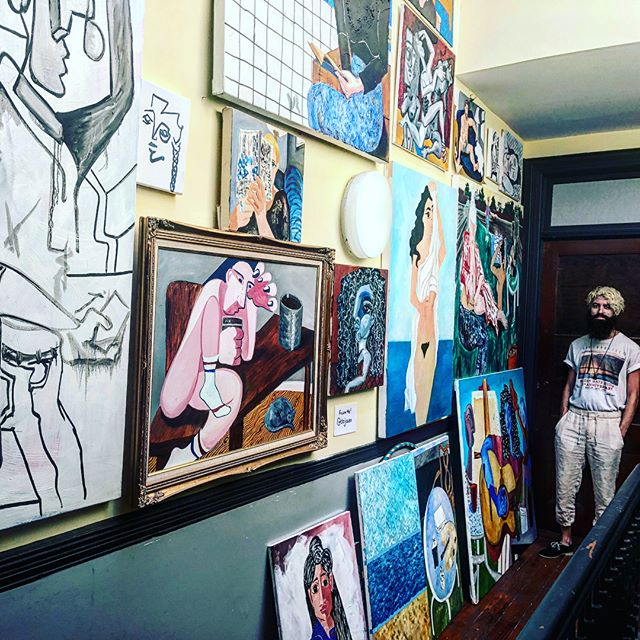 Beyond excited to include cubist/fauvist inspired #fineartist @dojaen in our gallery ! Still accepting a few more artists, link to apply in bio! #cubism#fauvist#rickyjaen#bostonartist#bostonartists
