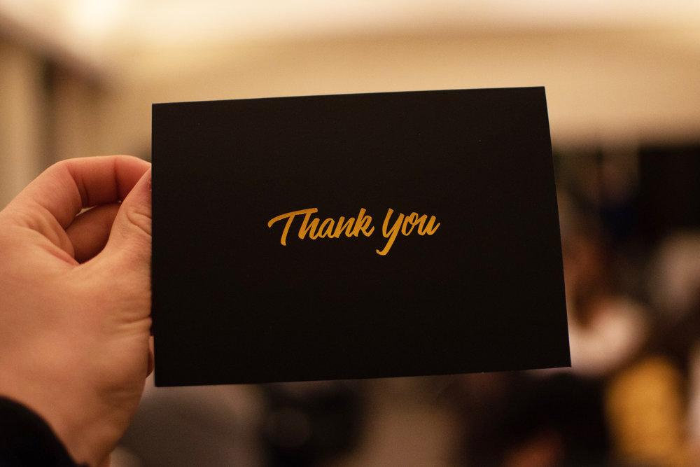 THANK YOU nOTES -