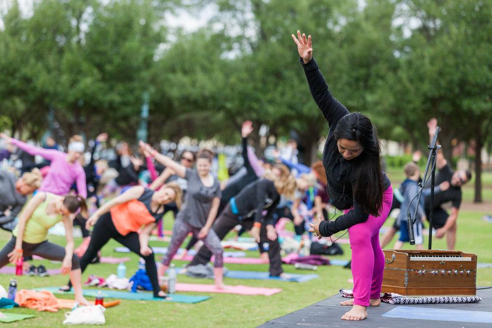 stefanie tovar hanuman homies DFW yoga outreach