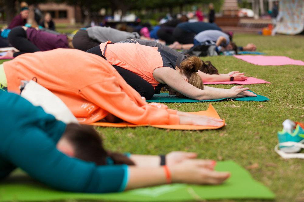hanuman homies volunteer dfw yoga