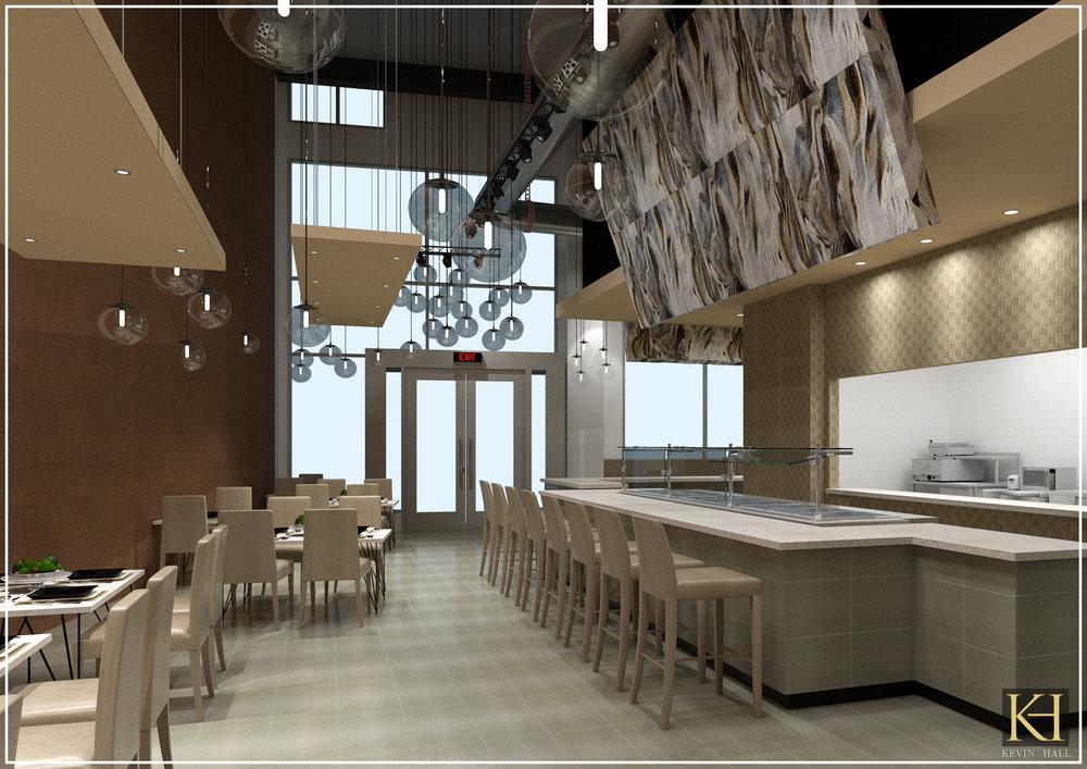 Restaurant design -