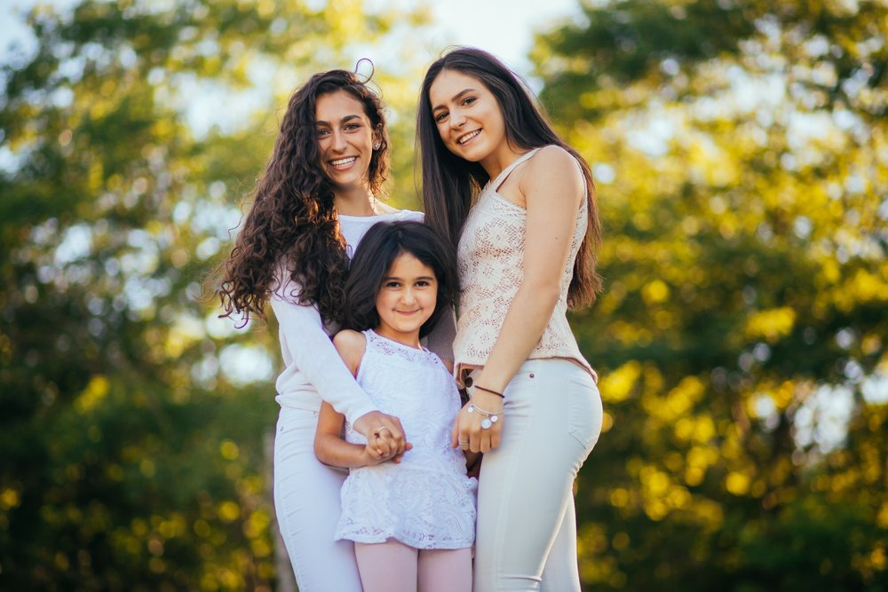 Dimitra'18, Mikelle'29 and Noelle'19.
