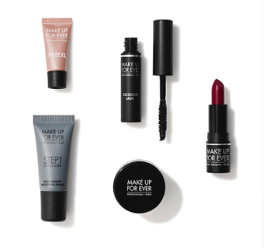 I got the Basic Meets Bold Kit from Makeup Forever for  500 points !