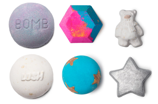 From left-to-right, top-to-bottom: Blackberry Bomb, the Experimenter, Butterbear, Butterball, Shoot for the Stars, Star Light Star Bright.