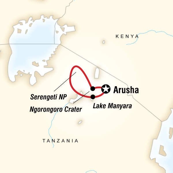 Tanzania Camping Adventure - 7 DaysEnjoy wildlife drives in the Serengeti, savour traditional cuisine in a local village, take in the views at Ngorongoro Crater, meet local artisans on a village walk