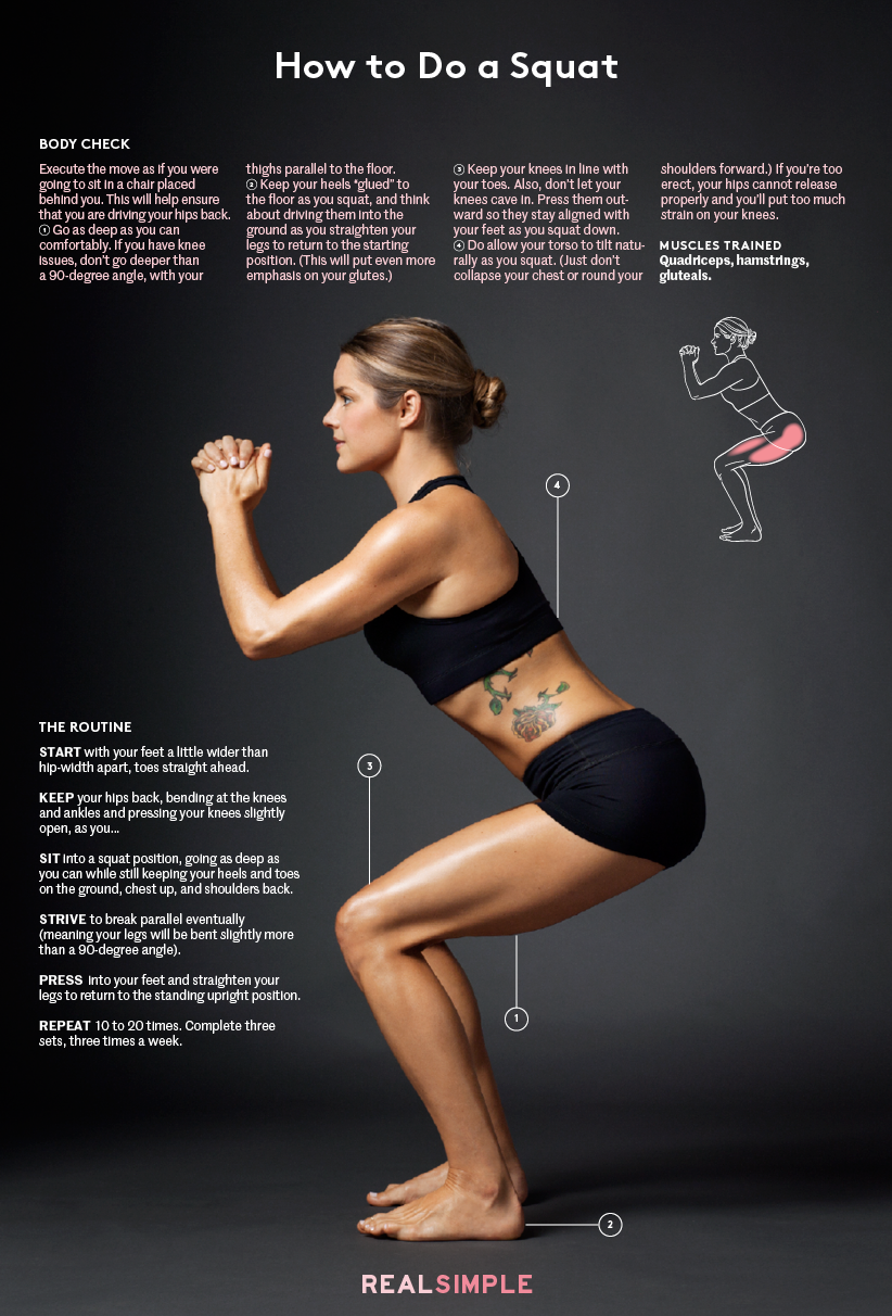 https://www.realsimple.com/health/fitness-exercise/workouts/squat-form#The%20Squat