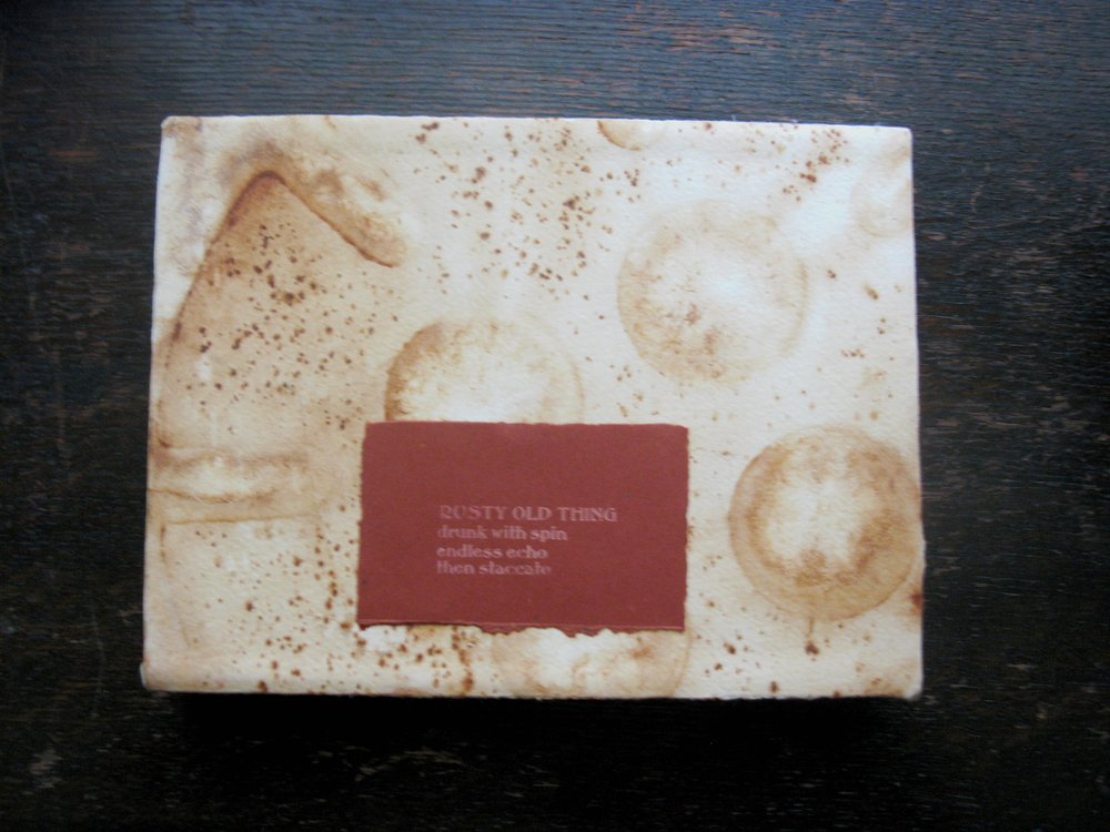 Rusty Old Thing Slip Case Boxx for 2 Books 5 X 7 inches.jpg