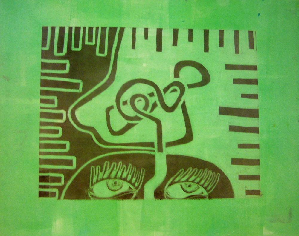Green Thinker - Monotype2010NFS