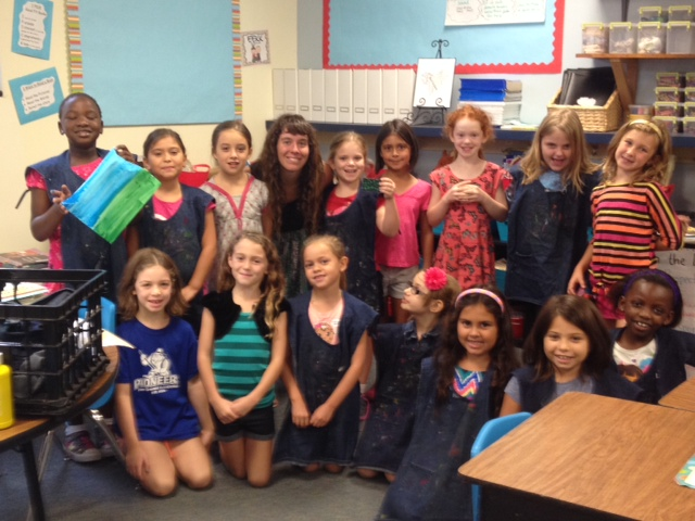 2nd graders at Pond Springs. Mrs. Marcegiano's class.JPG