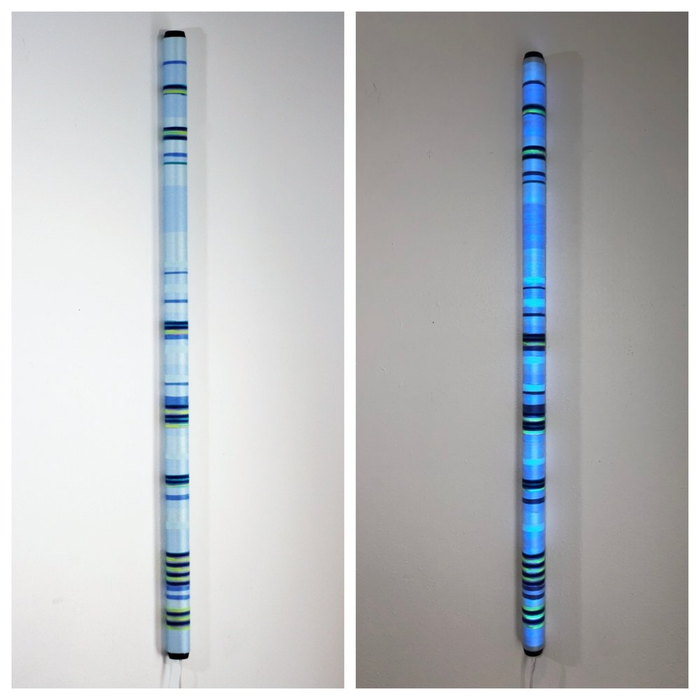 Trip the Light Fantastic - Refer to specs HERE2019This art patron wanted to add a nice vibe to their studio space.