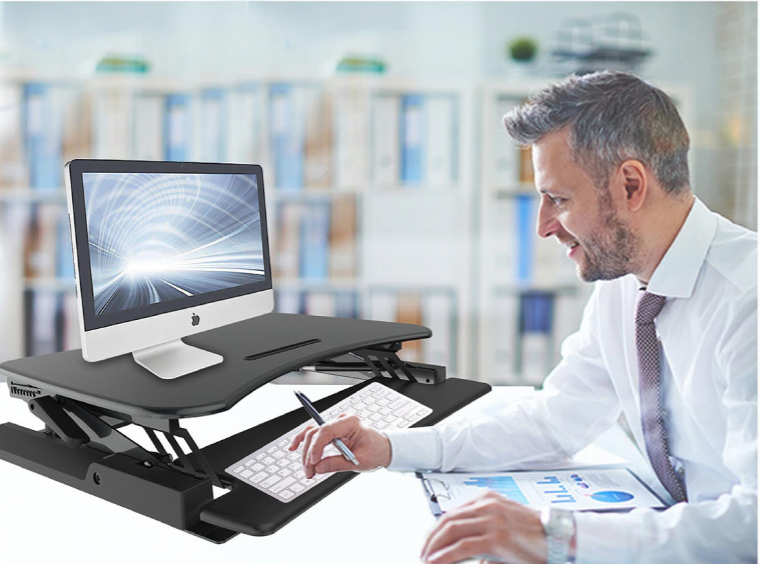 Ergonomic Height Adjustable Sit-Stand Desks