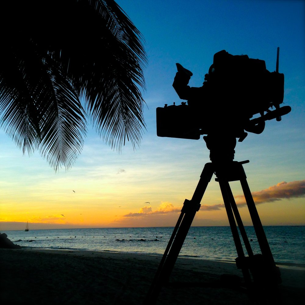 Shooting the last rays of sunshine on a Sony f800