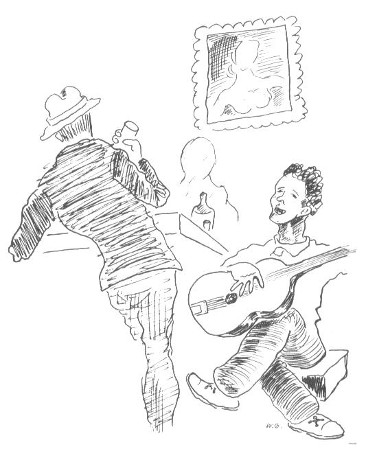Woody Guthrie sketch