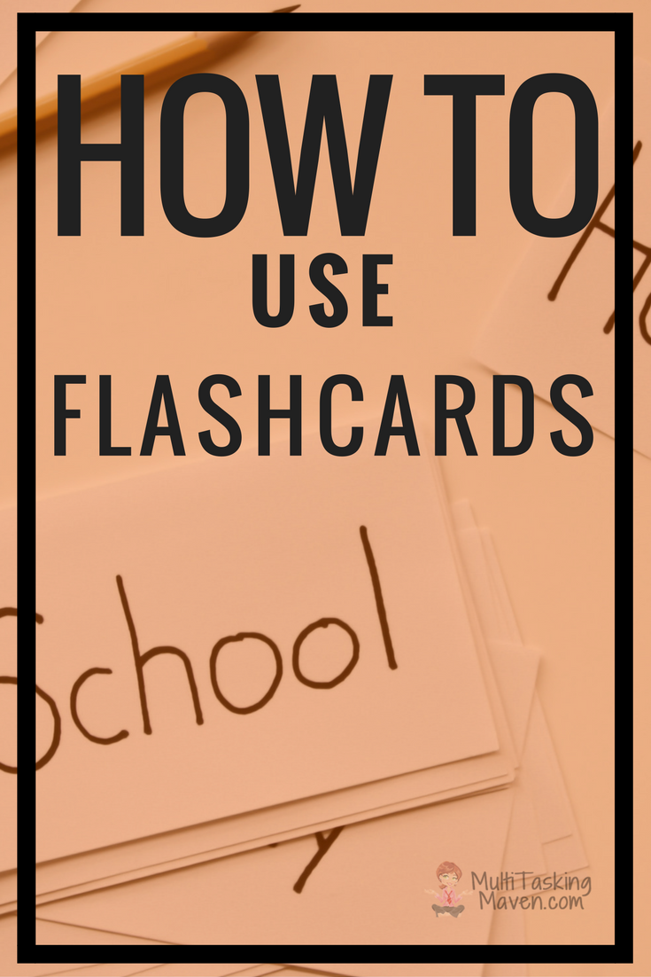 Have you every been to the store and seen the new packs of flashcards and thought you needed to buy every pack? I will answer those questions so your child can get the most out of their study time. http://multitaskingmaven.com/blog/