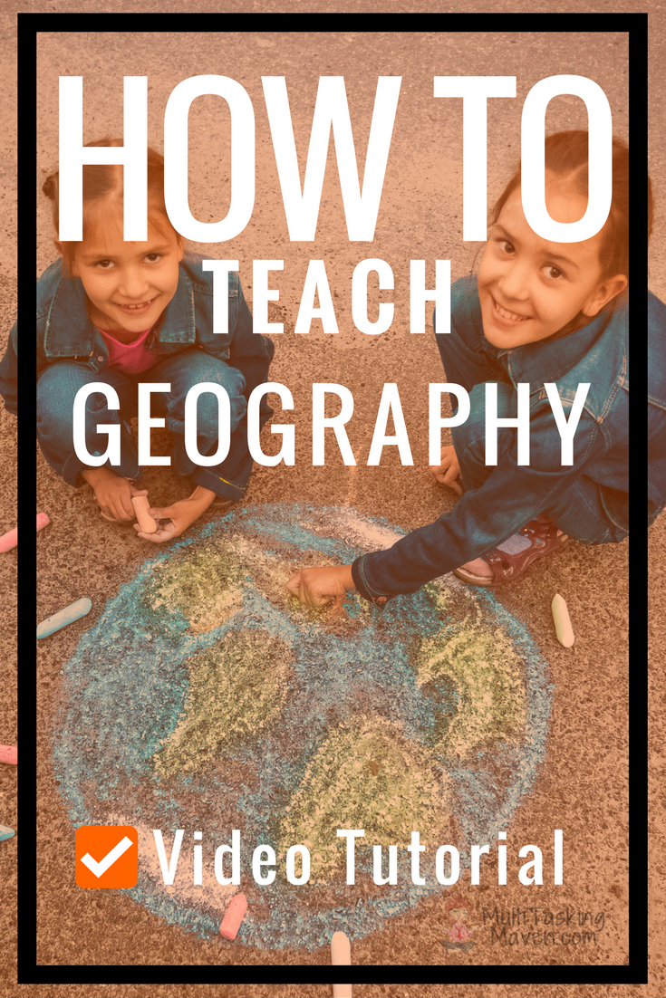 If your child can draw 7 circles and straight lines, I can teach you the seven continents, Tropic of Cancer, Tropic of Capricorn, and the Equator. Grab your sketch book, a good atlas and you are ready to go. Includes step by step instruction printable and video.  http://multitaskingmaven.com/blog/teach-geography