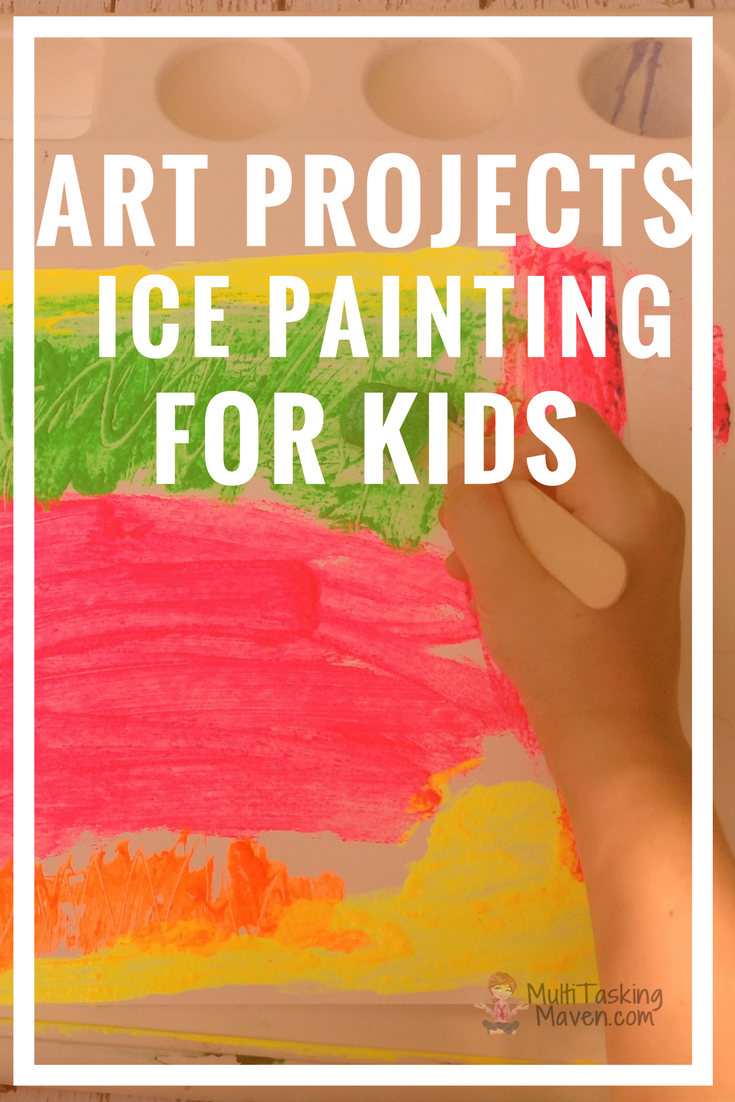How to Paint with Ice Paint      is a great alternative to traditional painting and a fantastic sensory experience.  Your child will love this spin on traditional painting. This is a great year-round activity!  Step by step instructions, materials list, and video tutorial. http://multitaskingmaven.com/blog/how-to-paint-with-ice-paint
