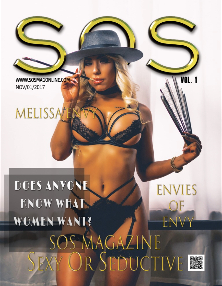 SOS Vol. 1 - INSIDE:Kristy Jessica/Pure RebelMarina DyagilevaMelissa Envy (COVER MODEL)Jenna KittiJune Ann D'AngelloBritttanie Beattie