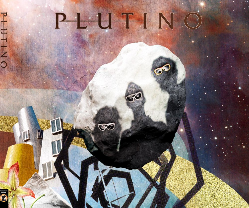 PLUTINO:   music for electric guitar, baritone sax, and drums   feat. BEPPE SCARDINO and FRANCESCO DIODATI