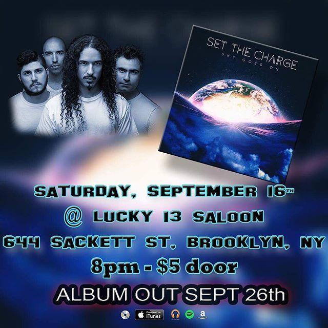This Saturday in Brooklyn.