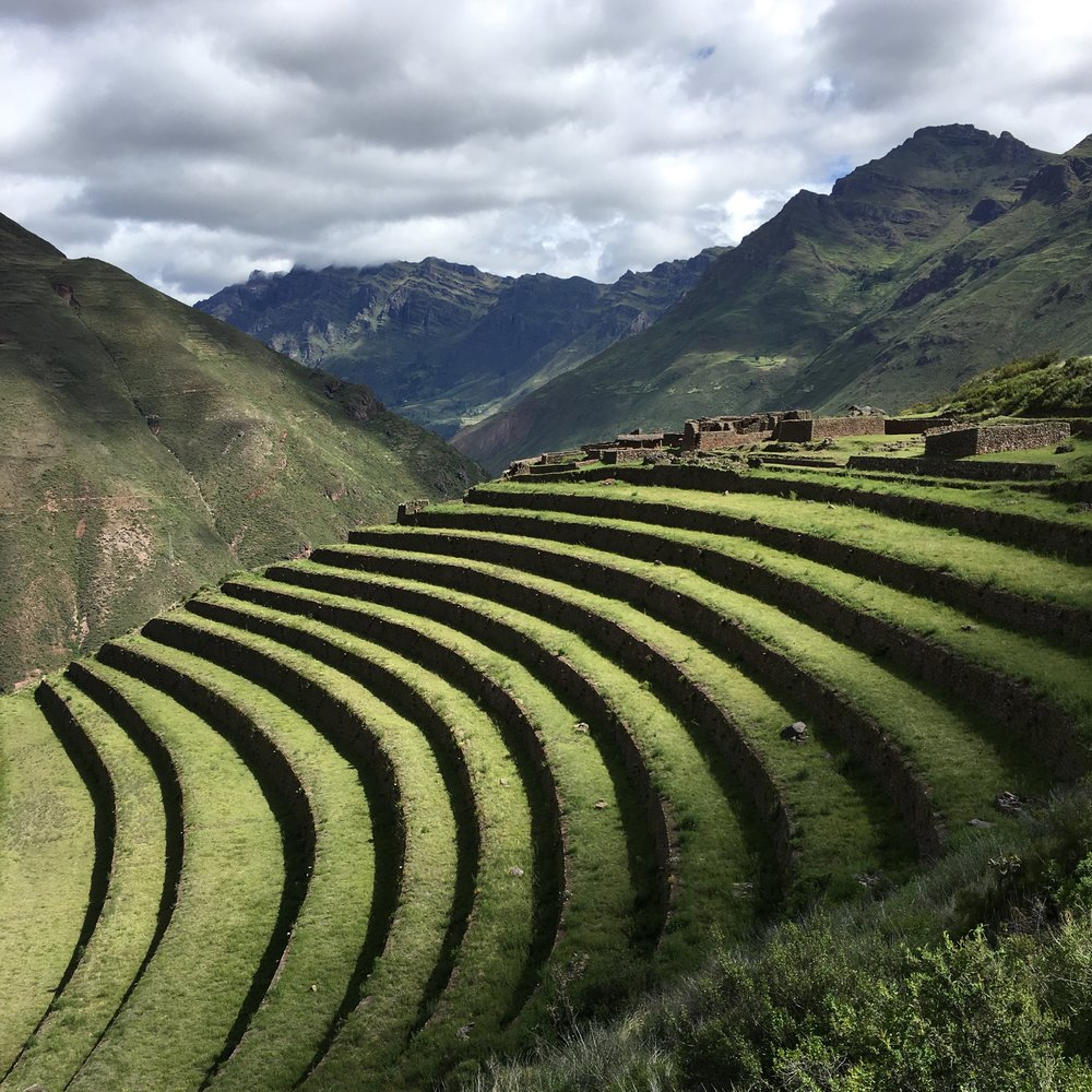 Terraces, Sacred Valley, Peru