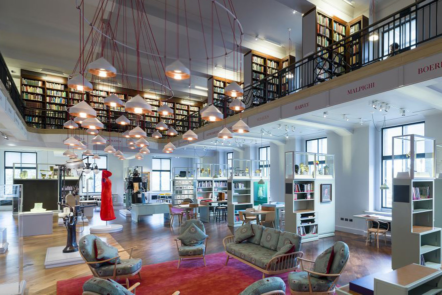 Reading Room redevelopment  Wellcome Library  Opened in 2014
