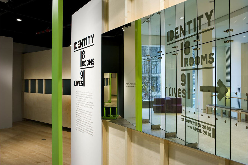 Identity: 8 Rooms, 9 Lives  Wellcome Collection  Nov 2009 - April 2010