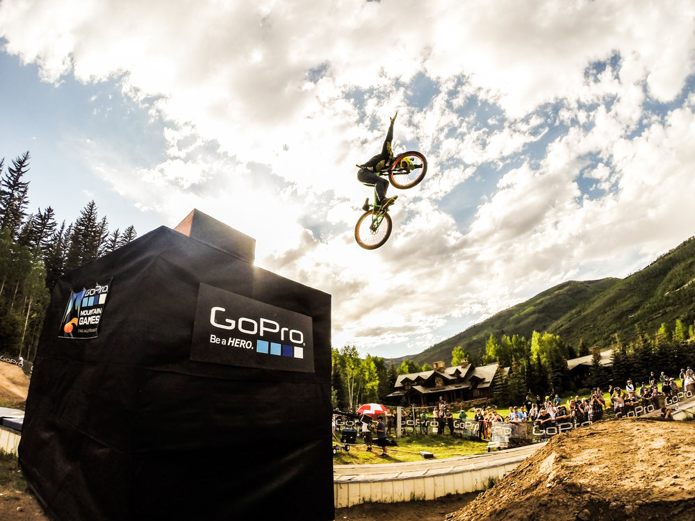 Throwback to the 2014 Mountain games, Slopestyle MTB. In two hours I captured my first images to be used both by Redbull and Sports Illustrated. How? I stayed longer than I was supposed to, put off easting lunch, and hiked up the course to see what was there. Shot on GoPro Hero 3 Black