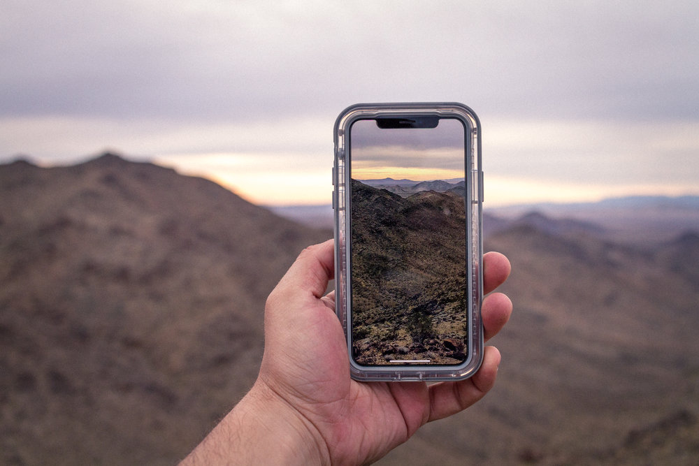 Actual photo of me taking an actual photo of an actual little moment with my actual iPhone X in the  LifeProof NEXT case , that is so unobtrusive it almost isn't there.