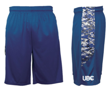Royal Blue CAMO Shorts $25 -